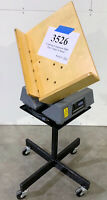 """Challenge Companion MDJ 24x17x4"""" Table Paper Jogger with Stand - Inventory #3526"""