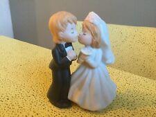 1983 Lefton Husband & Wife Cake Topper Figurine