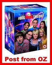 The Big Bang Theory: Complete Season 1-8 Bluray Box Set - Series 2,3,4,5,6,7 New