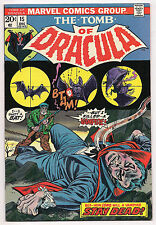 Bronze Age TOMB OF DRACULA #15 1973 VF/VF+