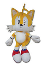 """NEW GE Animation Sonic The Hedgehog Classic Tails 8"""" Plush Doll GE7089 US Seller"""