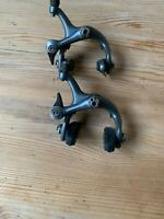 PAIRE ETRIER FREIN SHIMANO 600 ULTEGRA VELO COURSE BR-6400 BRAKE CALIPERS