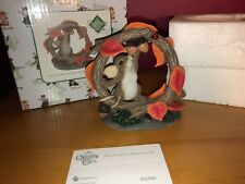 """Charming Tails """"What You Desire Is Within Reach"""" Signed Dean Griff Nib Fall"""