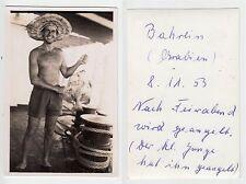 Mezza nuda giovane marinaio?, Sunny Beach Boy, foto (5,7 x 8,6 cm) 1953 gay