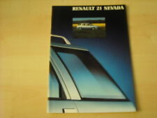 50602) Renault R21 Nevada Prospekt 06/1990