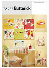 Butterick Pattern B5767 Sewing Room Organizers Wall Hanging Ironing Board UNCUT