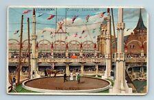 Coney Island New York Luna Park The Circus Trapeze Artist 1909 Postcard