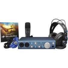 PreSonus iTwo Studio Audio Interface Recording Bundle 140541221400