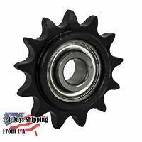 """Roller Chain Sprocket 5SR19 42mm Bore Key /& 2 Grub Screws 5//8/"""" Pitch 19 Tooth"""