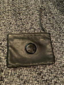 MIMCO BLACK POUCH LARGE Preowned