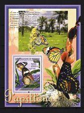Guinée 2008 papillons bloc n° 841 neuf ** 1er choix