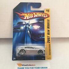 #5  Chevy Camaro Concept #2 * SILVER * 2007 Hot Wheels * WG14