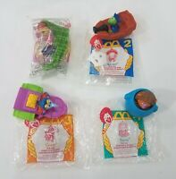 McDonald's Muppets Treasure Island 1996 Set of 4 Tub Toys Collectibles (invA28)