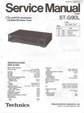 TECHNICS ST G90 - ST G90L - TUNER - SERVICE MANUAL IN COLOR VERSION - REPAIR -