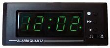 12 VOLT CAR CLOCK WITH ALARM, PANEL MOUNT FOR CARAVAN, MOTORHOME, BOAT #LQ1201AL