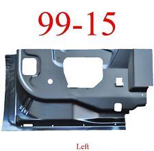 99 15 Left Rear Door Inner Bottom, Super Duty Extended Cab Truck