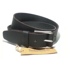 "Timberland Men Leather  Belt size 36 black 1.5"" wide India"
