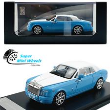 Rolls-Royce Phantom Coupe (Blue / White) 1:64 Diecast Model