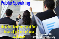 Public Speaking Self Hypnosis CD Narellan Hypnotherapy
