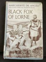 Vintage 1st 1956 HC Black Fox of Lorne By Marguerite de Angeli ExLib
