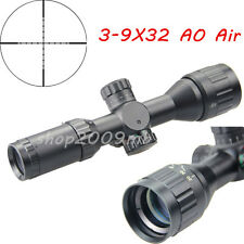3-9X32 AO Air Rifle Scope Illuminated Red & Green Mil Dot Reticle Sight Hunting