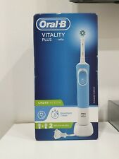 BRAND NEW BRAUN ORAL-B VITALITY PLUS CROSSACTION RECHARGEABLE TOOTHBRUSH