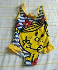 little miss sunshine swimming costume size 1 - 1.5 years (D11 H)