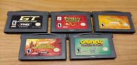 Nintendo Game Boy Advance GBA Lot - Disney Frogger Shrek Garfield Nicktoons Race