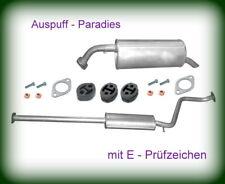 Abgasanlage Auspuff Schalldämpfer Hyundai Getz 1.1 & 1.4i Typ TB (49 & 71KW)+Kit