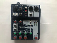 Soundcraft Notepad 5 Mischpult mit USB, Phantomspeisung, Monitorweg| Gebraucht