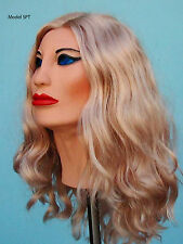 Female Mask Lilli SPT Latex Cosplay Masks!  With Wig
