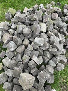 100 Reclaimed Granite Cobbles