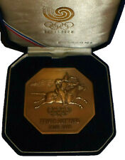 1988 SEOUL Olympic Games Participation Participant Medal & Box South Korea