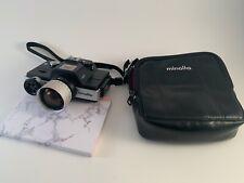 Vintage Minolta 110 ZOOM SLR Camera w/ Case