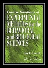 Concise Handbook of Experimental Methods for the Behavioral and Biological