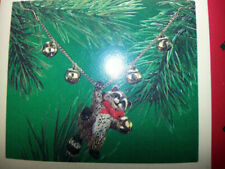 1986 Hallmark Cinnamon Bear Porcelain 4th Edition Ornament NIB NEW IN BOX