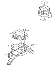 AUDI A4 B8 Sound Actuator Unit 4H0907601C NEW GENUINE
