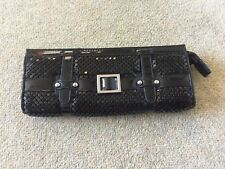 Warehouse Ladies Black Clutch Purse - Evening and Parties