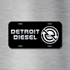 Detroit Diesel Vehicle License Plate Truck Auto Tag Ram Ford Chevy GMC NEW