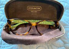 COACH HC 6029 Susie 5001 Dark Tortoise 51-17-135 Eyeglass/Sunglass Frames & Case