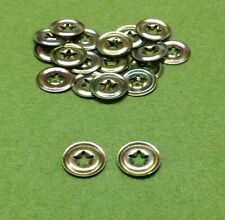 METAL BACKS - Replacement Washers Spares - Teddy Bear Toy Doll Eyes / Noses
