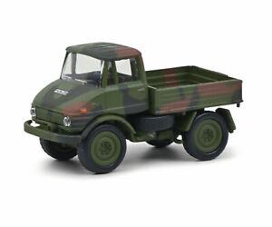 Unimog U406 Bundeswehr, Schuco 452658900, 1:87
