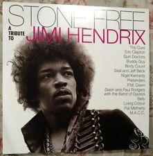 Stone Free Jimi Hendrix Tribute Vinyl LP Cure Guns Roses Clapton Belly Jeff Beck