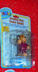 WEBKINZ  Breaking News Cocker Spaniel   figure   Series 2   Ganz