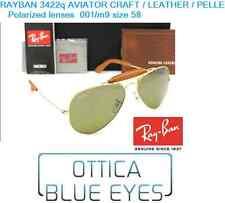 Occhiali da Sole RAYBAN OUTDOORSMAN Sunglasses PELLE 3422Q Ray Ban Aviator CRAFT