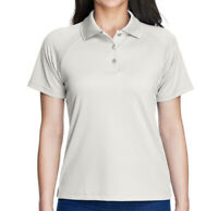 Extreme Women's Performance Short Sleeve Polo Shirt Top - Frost
