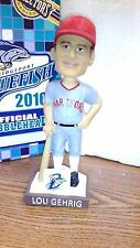MLB BRIDGEPORT BLUEFISH OFFICIAL BOBBLEHEAD LOU GEHRIG 2016 SEALED IN BOX