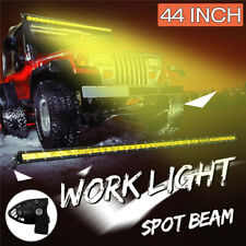44Inch LED Work Light Bar Spot Flood Combo Beam Off Road Driving Car Truck Lamp