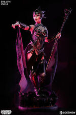 SIDESHOW MOTU MASTERS OF THE UNIVERSE EVIL-LYN STATUE ~BRAND NEW~