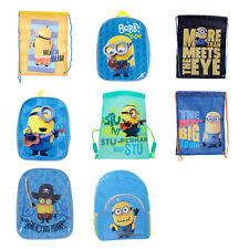 Minions Drawstring Bags and Backpacks